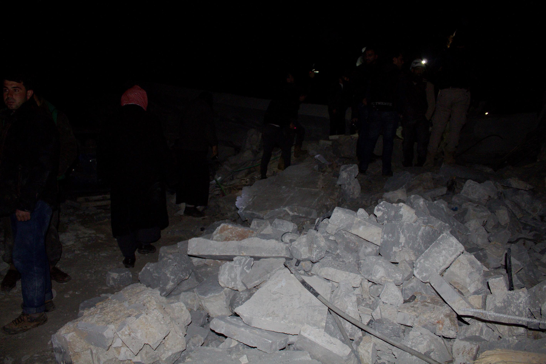Elismerte az amerikai hadsereg, hogy lebombáztak egy mecsetet Szíriában