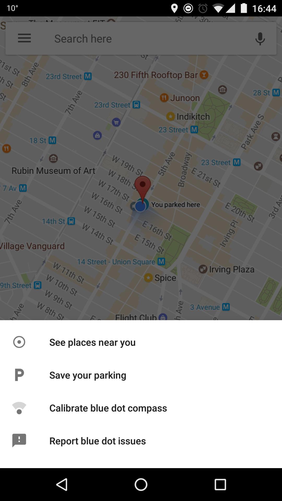 A Google Maps hamarosan emlékezni fog rá, hol parkoltál