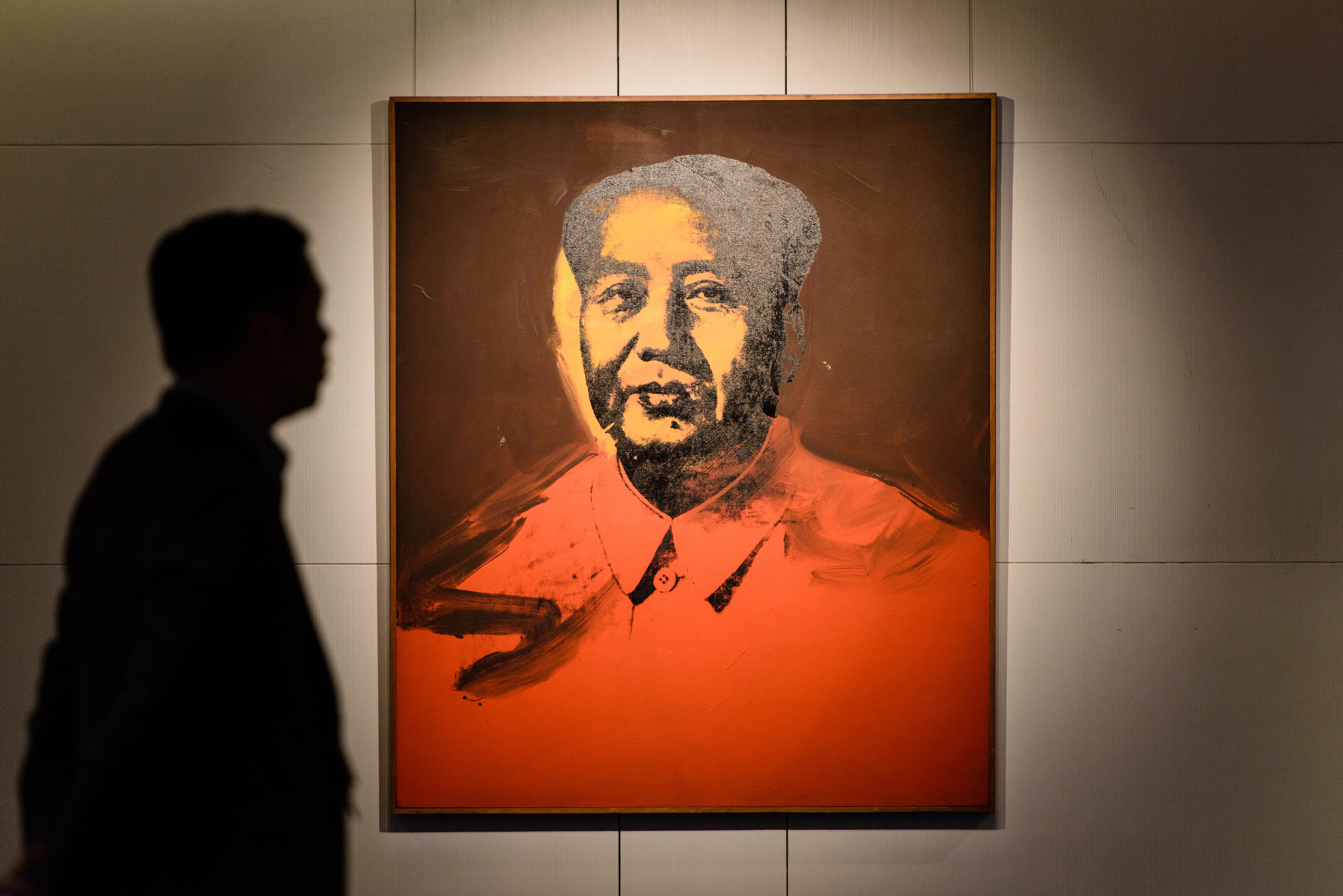 12,6 millió dollárért kelt el Warhol portréja Mao Ce-tungról