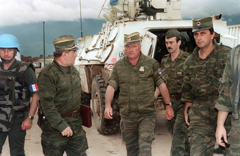 Elutasították Ratko Mladic fellebbezését, élete végéig börtönben marad