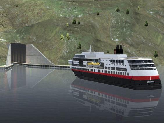 Norvégia megépíti a világ első tengeri hajóalagútját