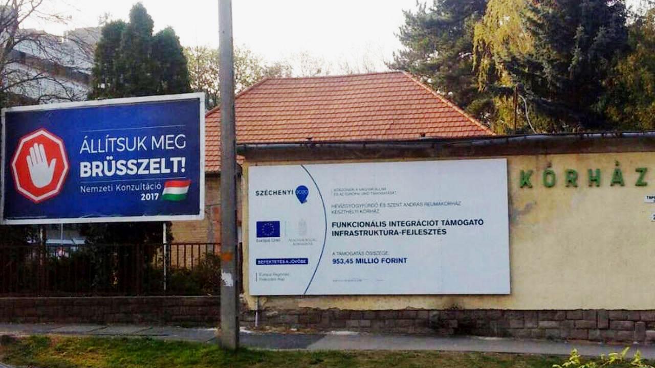 Állítsuk meg Brüsszelt! Több pénzt ne küldjenek a kórházra!