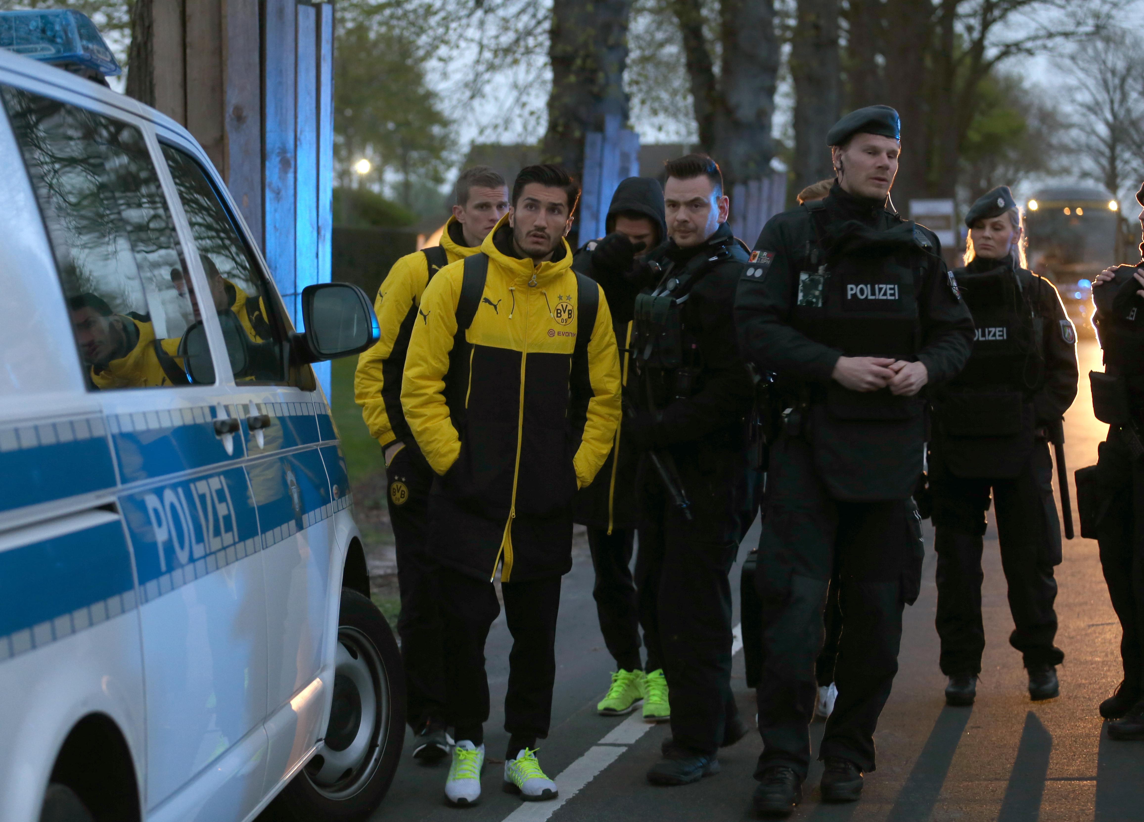 A Borussia Dortmund volt a keddi robbantás célpontja