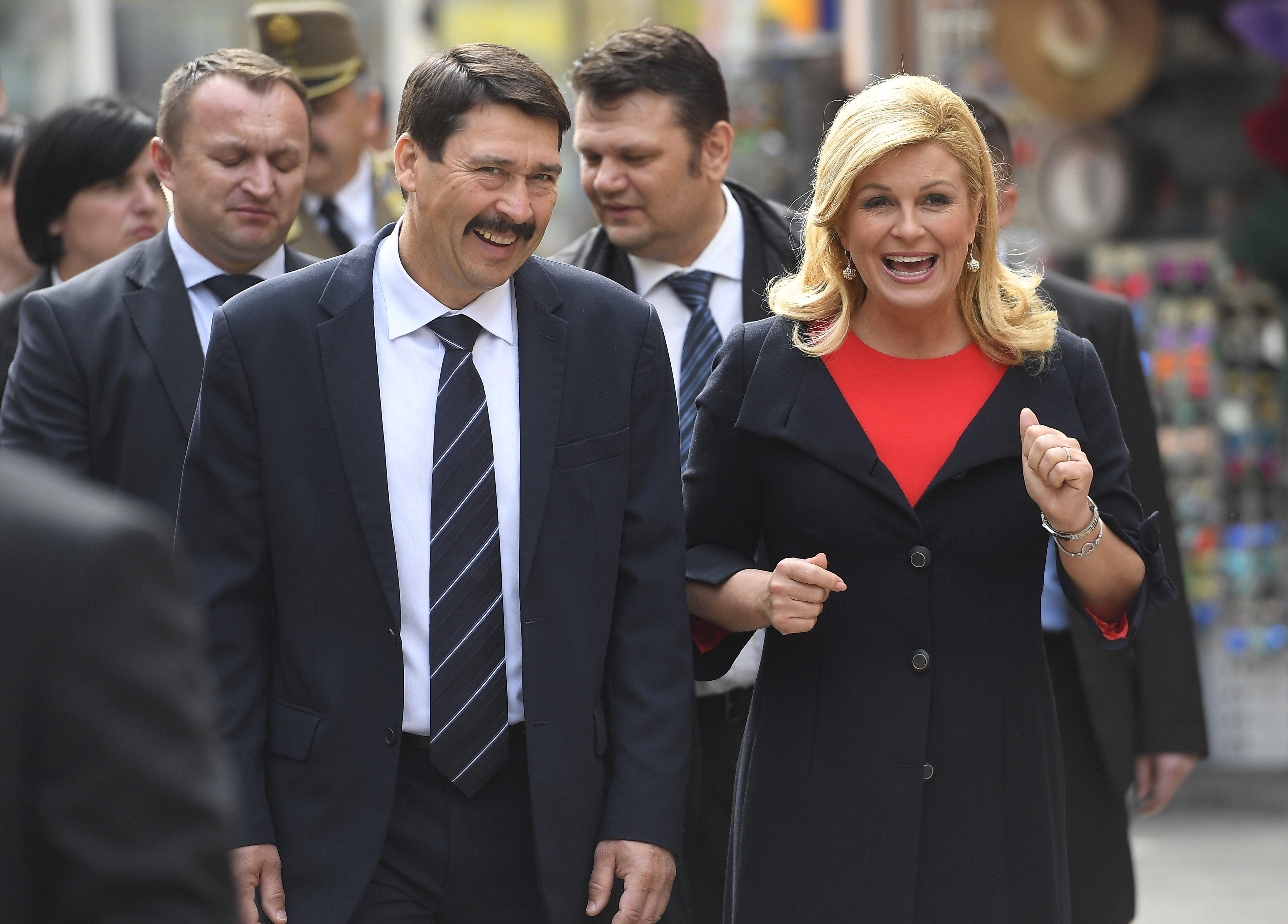 Megjegyeztem magyar barátaimnak, hogy az ilyen helyzetek nem segítenek a nyitott kérdések megoldásában - mondta a horvát elnök arról, hogy Budapest nem támogatja országa OECD-tagságát