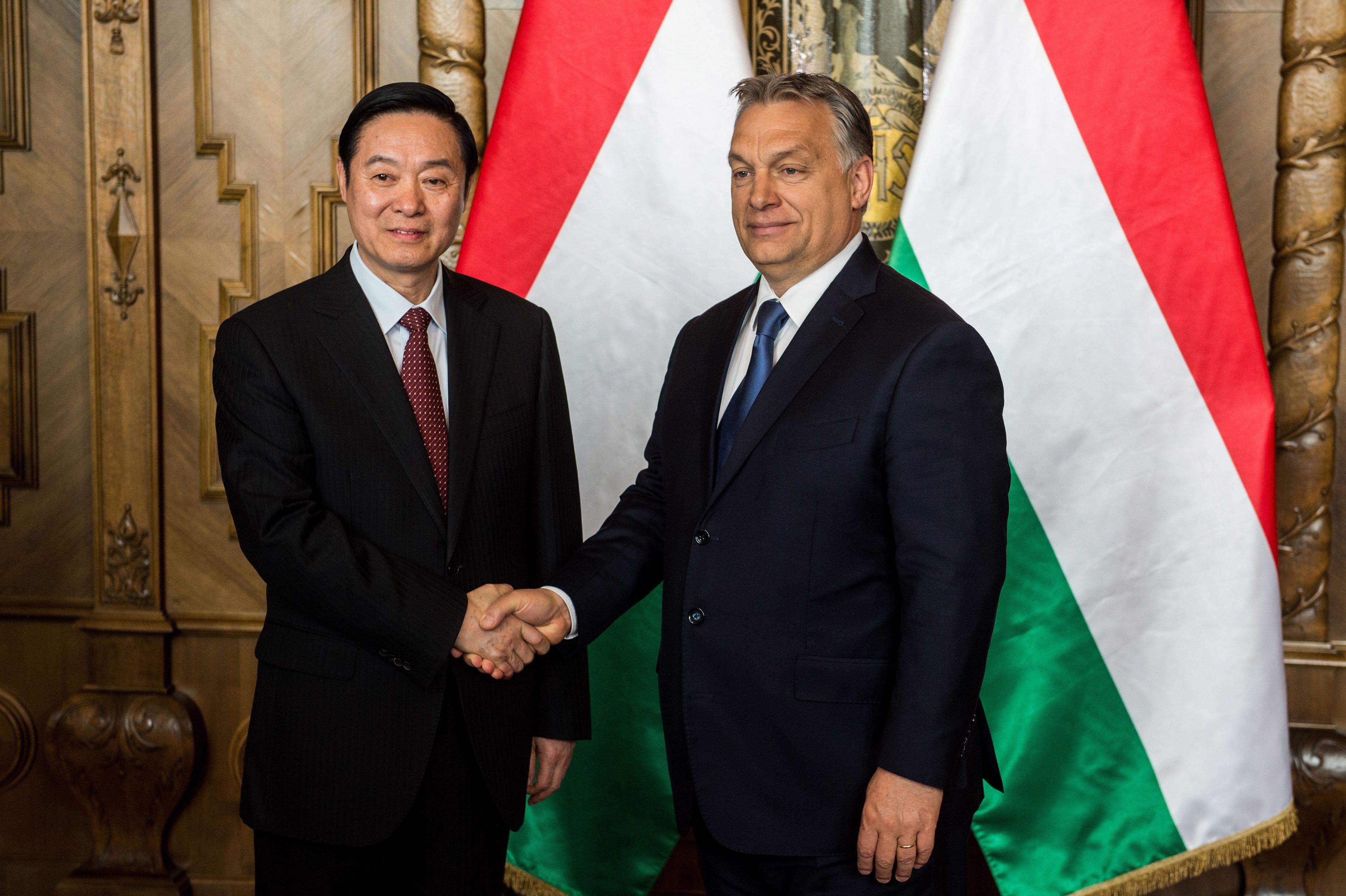 Orbán Viktor fogadta a Kínai Kommunista Párt Központi Bizottságának titkárát