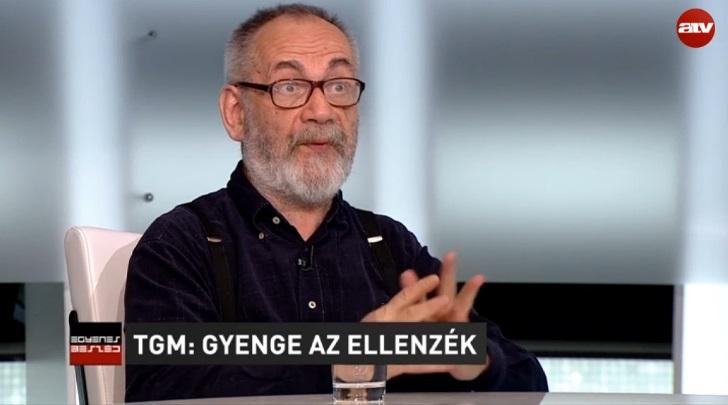 Senki sem harap el káromkodást olyan profin, mint Tamás Gáspár Miklós