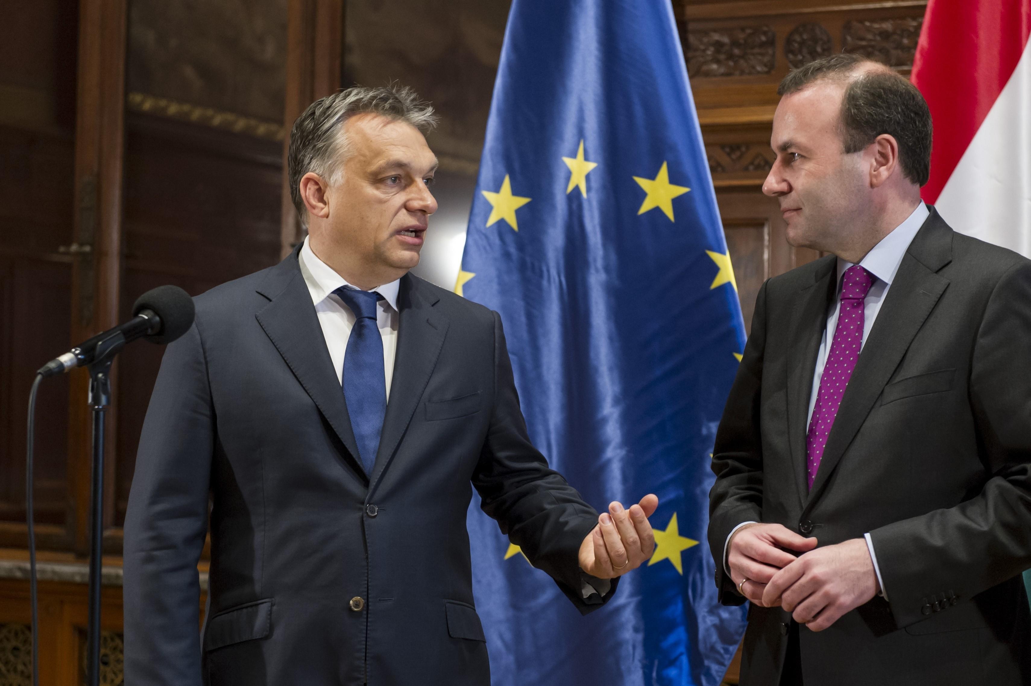 Weber: A keresztény értékek, amiket hirdetek, közelebb állnak Ferenc pápához, mint Orbánhoz
