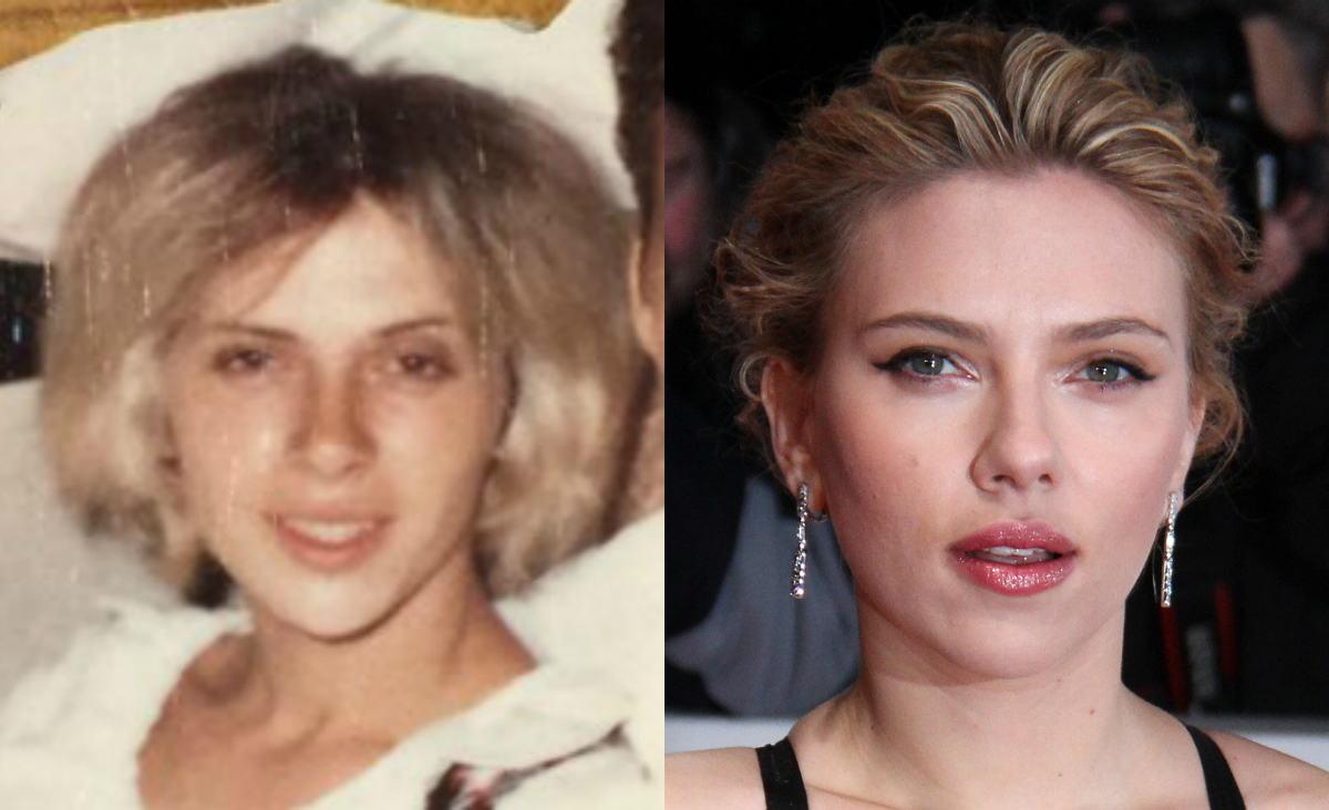 Elhívta kocsmázni a jövőbeli énjét Scarlett Johansson