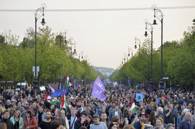 A Momentum első nagy tüntetésével bemutatta, hogy komoly ellenzéki erő lehet