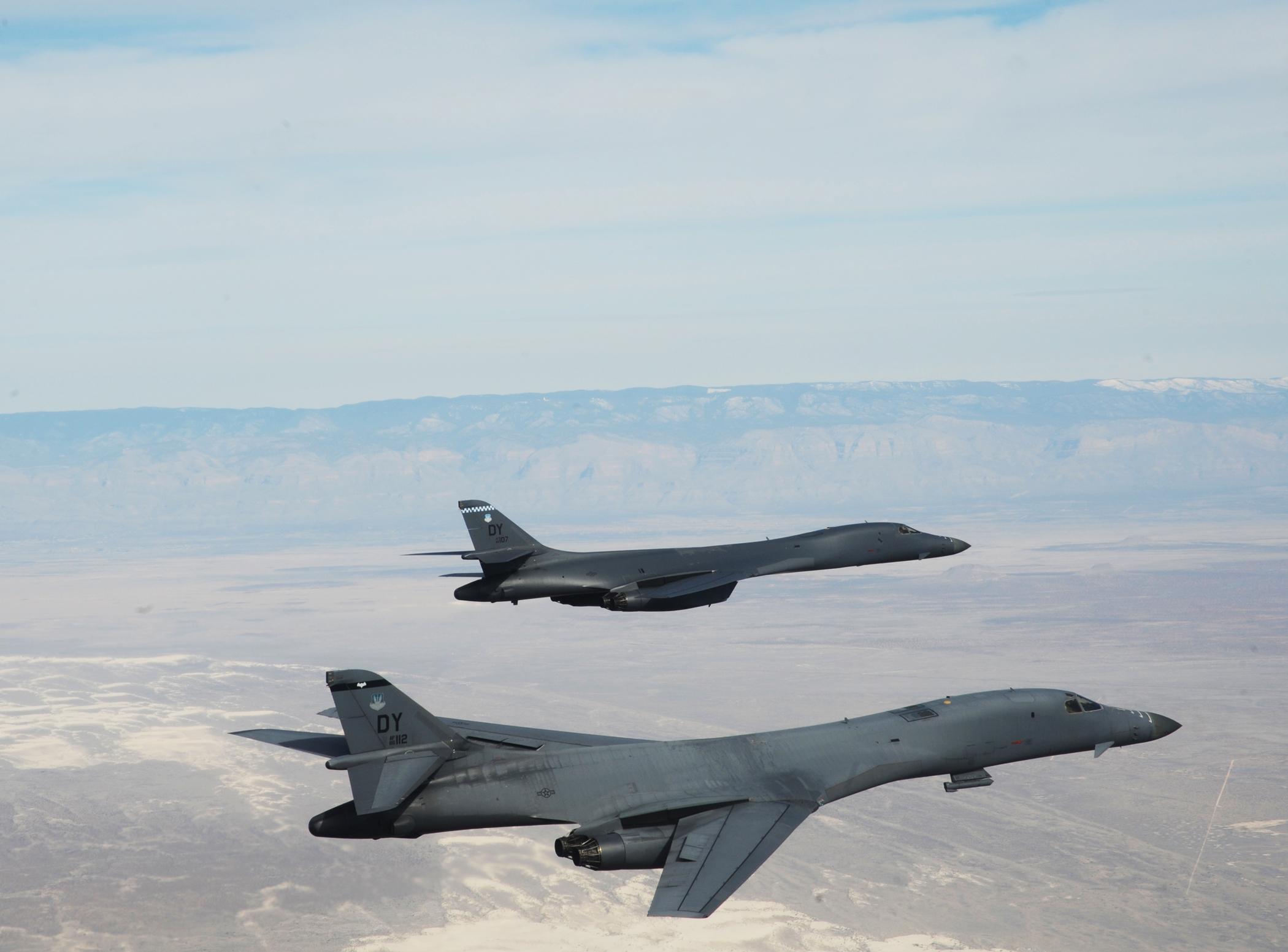 Két amerikai B 1B bombázó átrepült Dél-Korea felett
