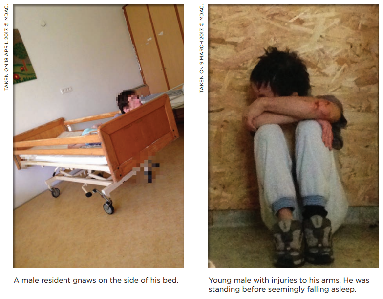 Éheztették és leláncolták a fogyatékkal élőket egy magyar bentlakásos intézetben