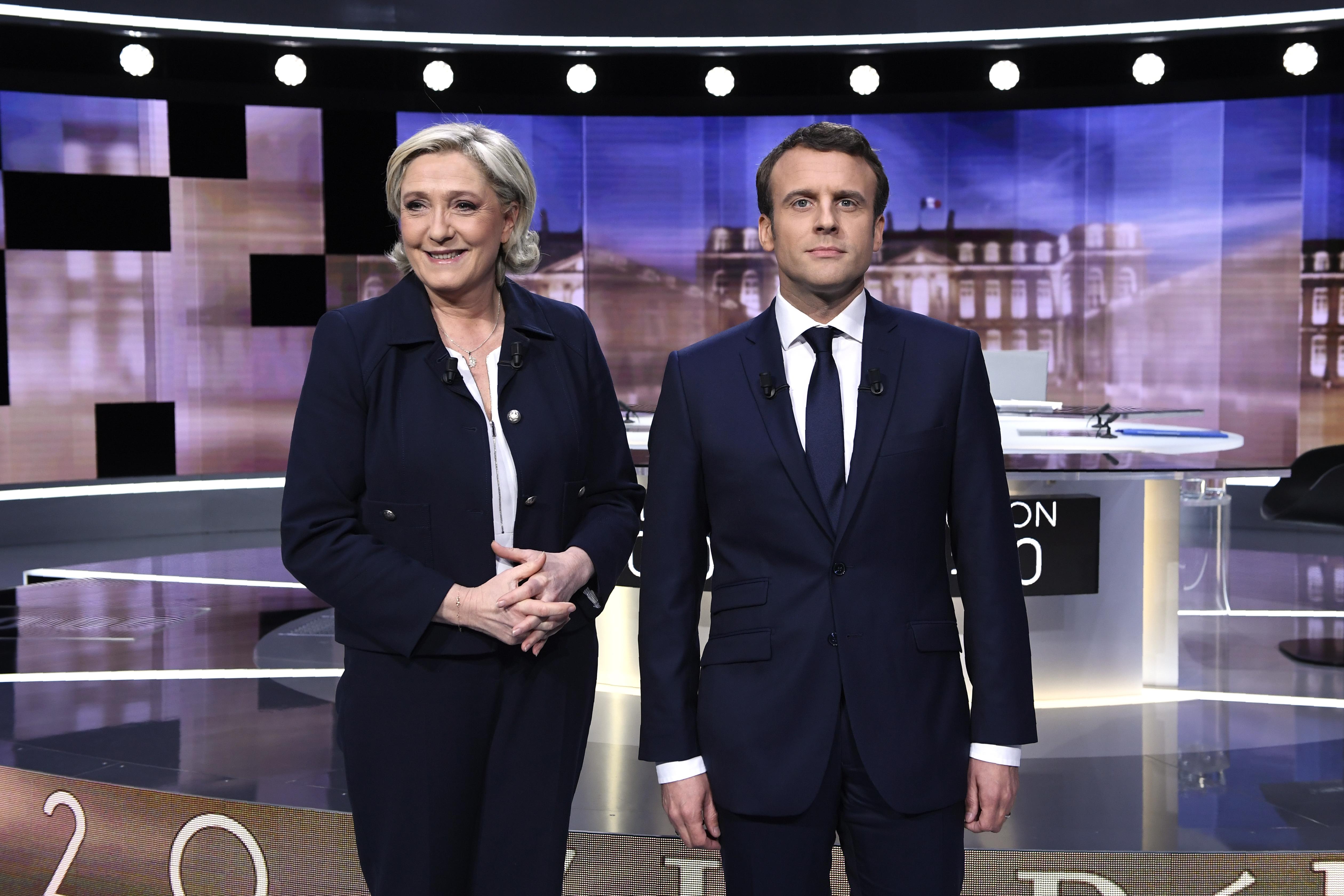 Macron panaszt tett, miután Le Pen a vitájukban offshore számlákra utalgatott