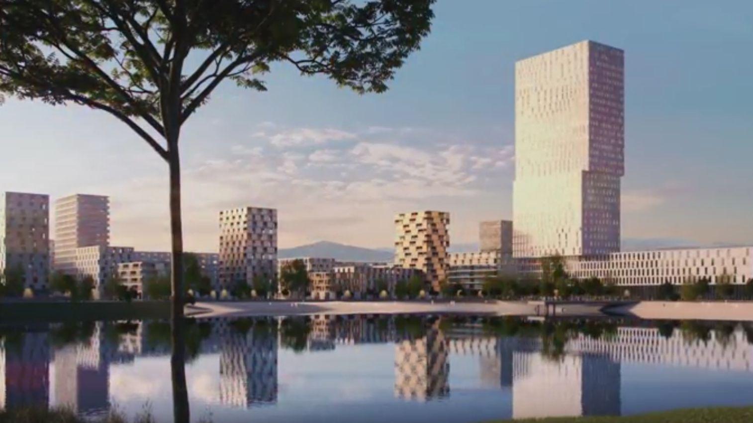 A tervezettnél is magasabb felhőkarcolót szeretne a Kopaszi gátra a kerület főépítésze
