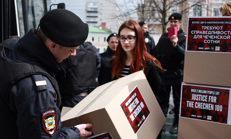 Öt aktivistát tartóztattak le Moszkvában