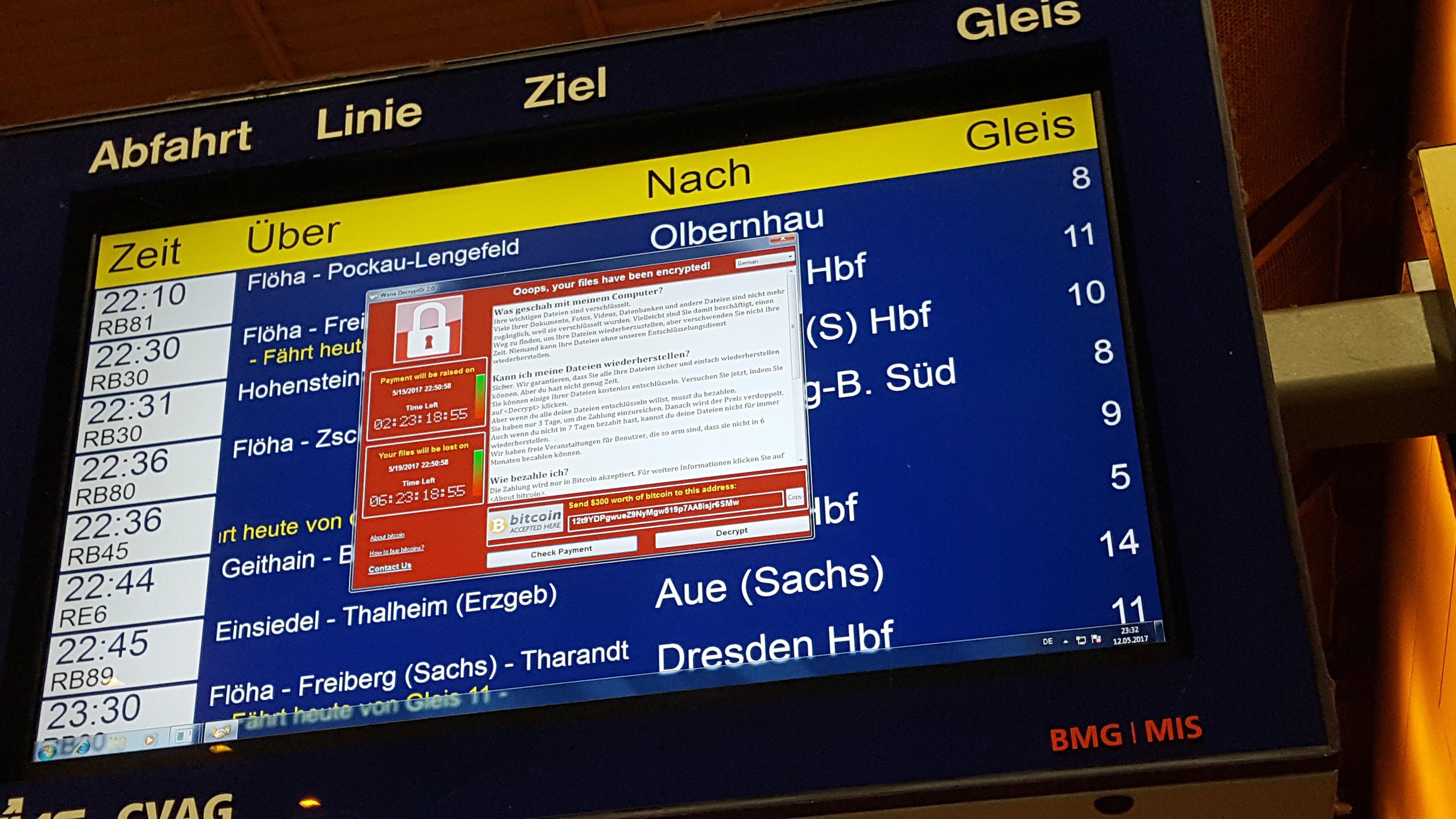 Magyarországon is megjelent a WannaCry zsarolóvírus