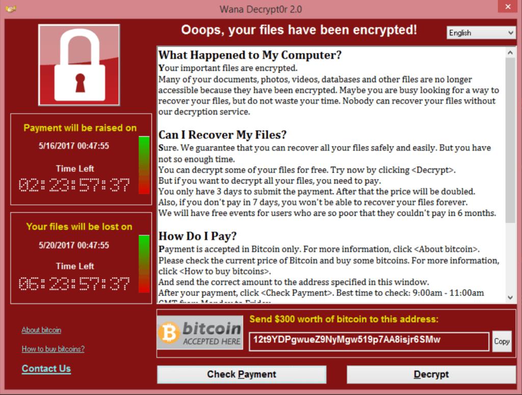 A zsarolóvírus írói DDoS-olni próbálják a vírus terjedését blokkoló weboldalt