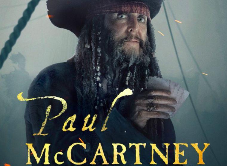 Ha mindig is érdekelt, hogy hogy mutatna Paul McCartney kalózként, hát így