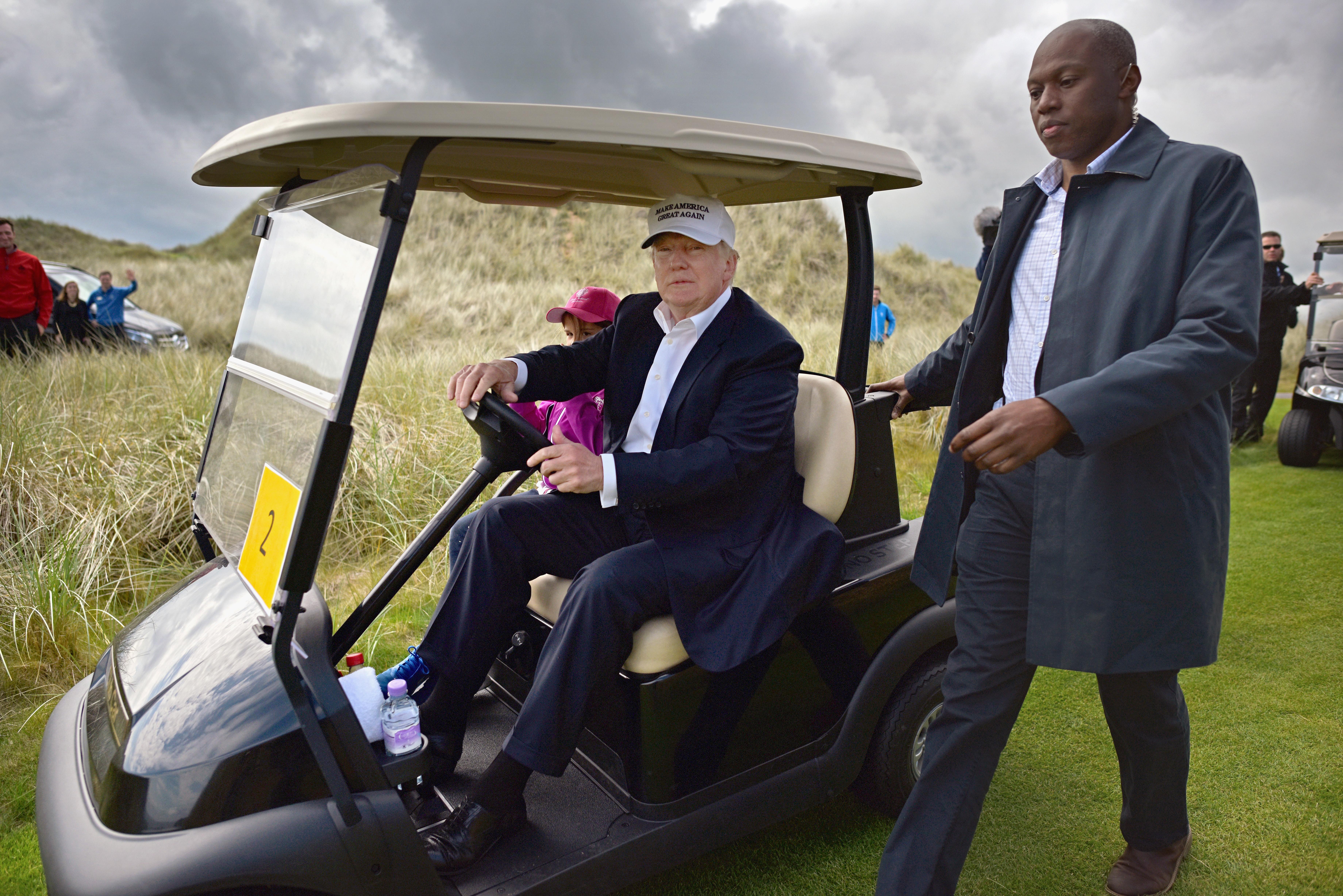 Donald Trump ellenzi a testedzést, mert az lemeríti az emberi test véges energiáit