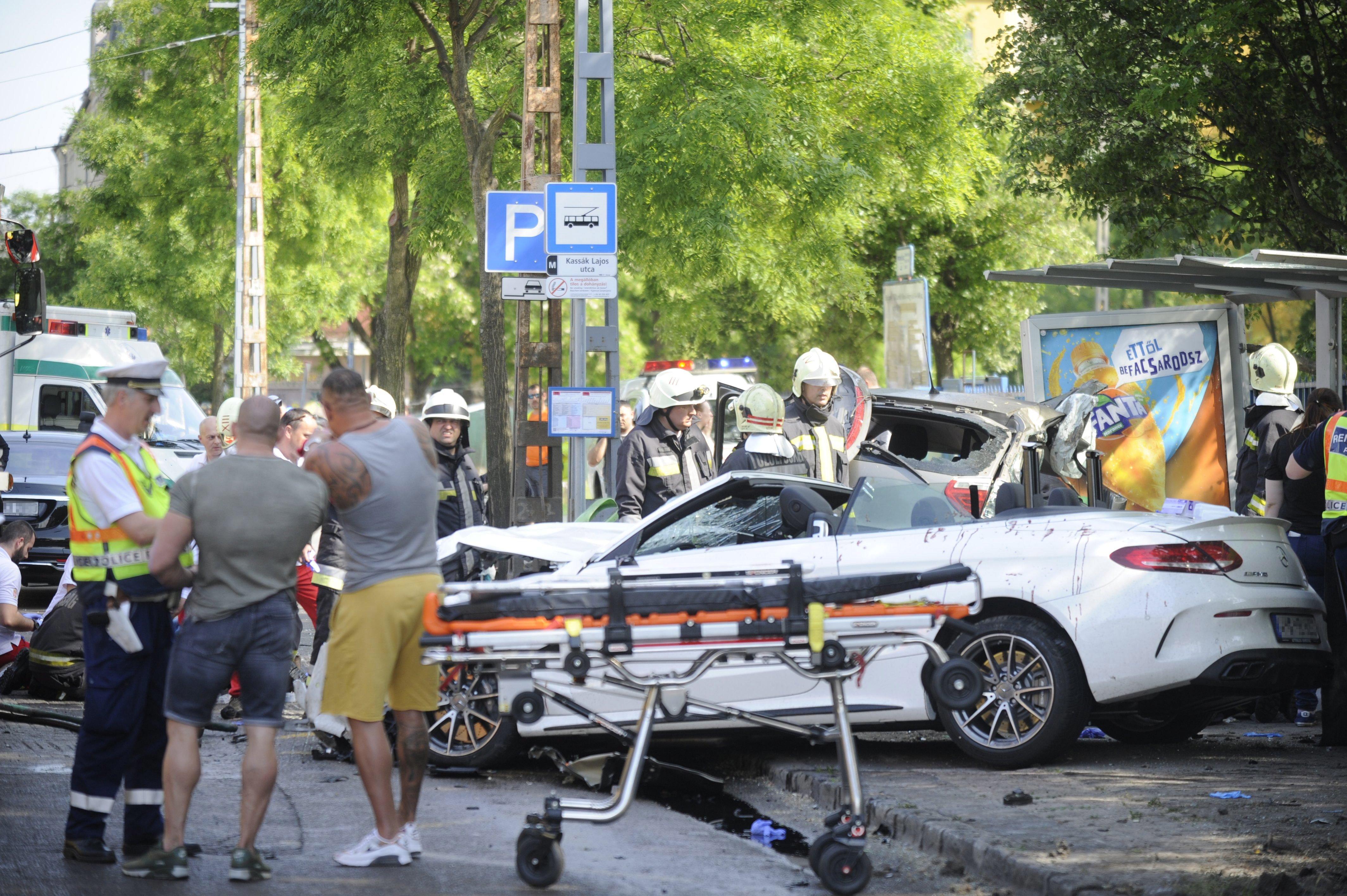 Már Dózsa György úti karambol előtt elvették M. Richárd jogosítványát, a baleset idején nem is vezethetett volna