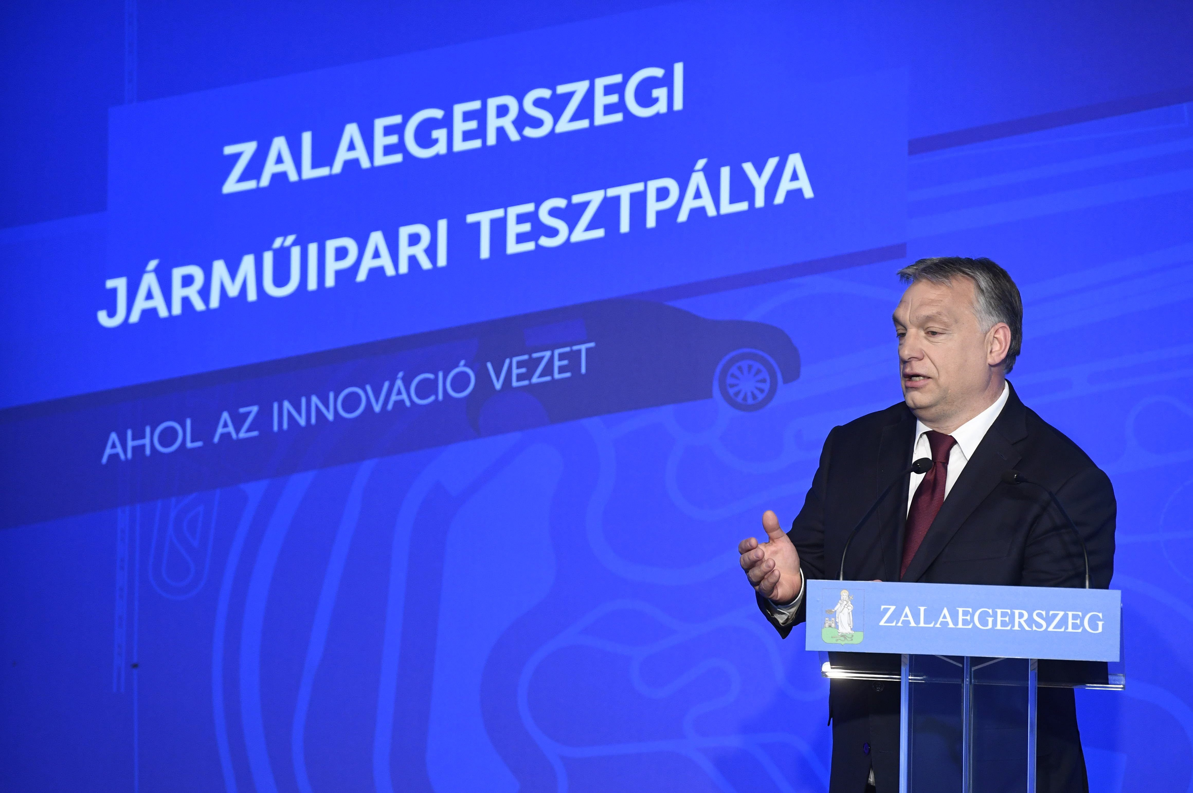 Természetesen Orbánék egyik kedvenc cége nyerte a zalaegerszegi autós tesztpálya első fázisát