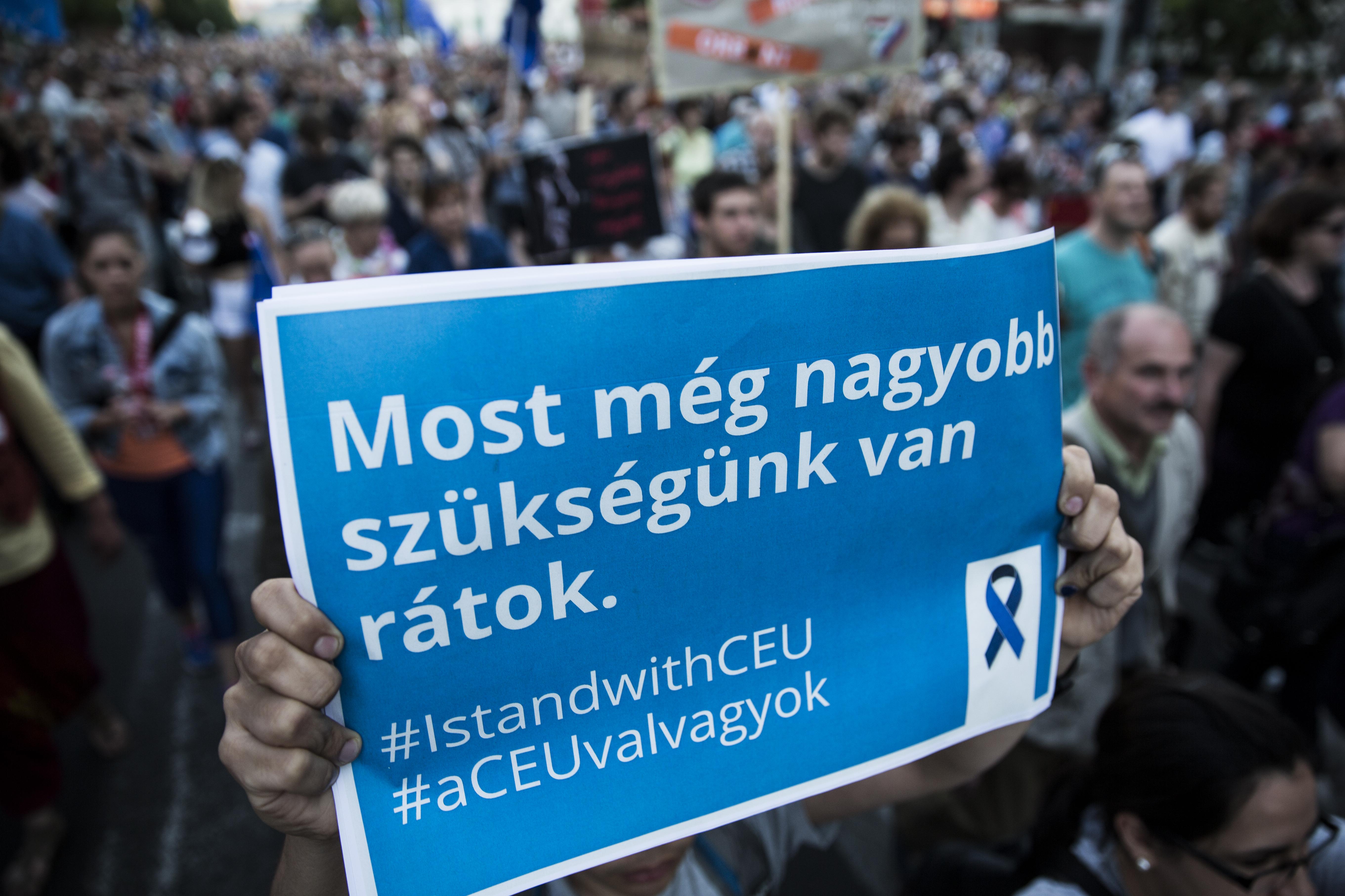 A CEU lényegében itt hagyja Magyarországot