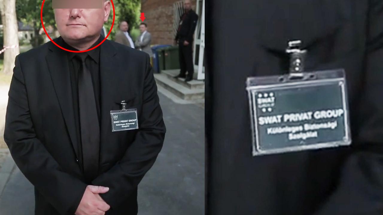 """A kormány egyik kedvenc vállalkozójának dolgozott az """"Izom"""" fedőnevű férfi, aki a csepeli lakossági fórumon próbálta távol tartani az újságírókat Rogán Antaltól"""