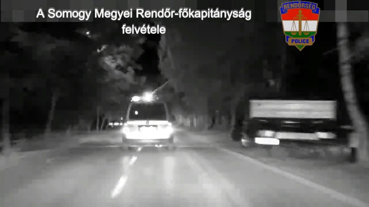 Autósüldőzés volt Zamárdiban