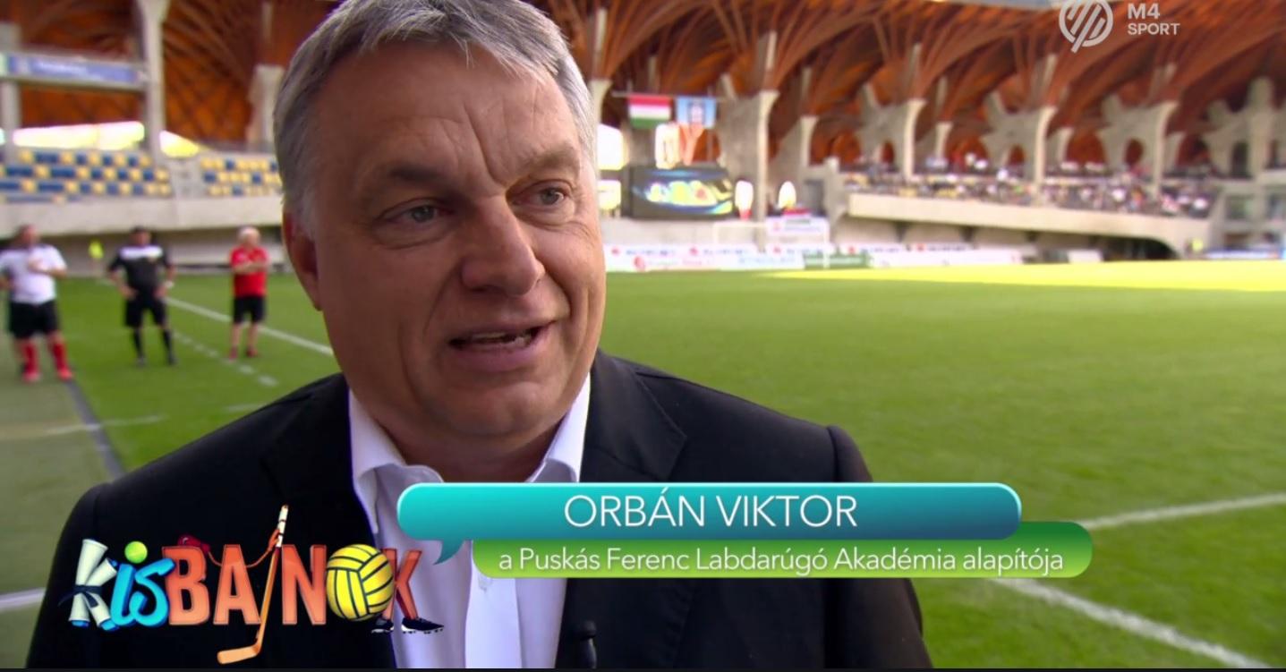 Orbán Viktor éppen az Andorra elleni meccs előtt beszélt a hamarosan világszínvonalú magyar fociról