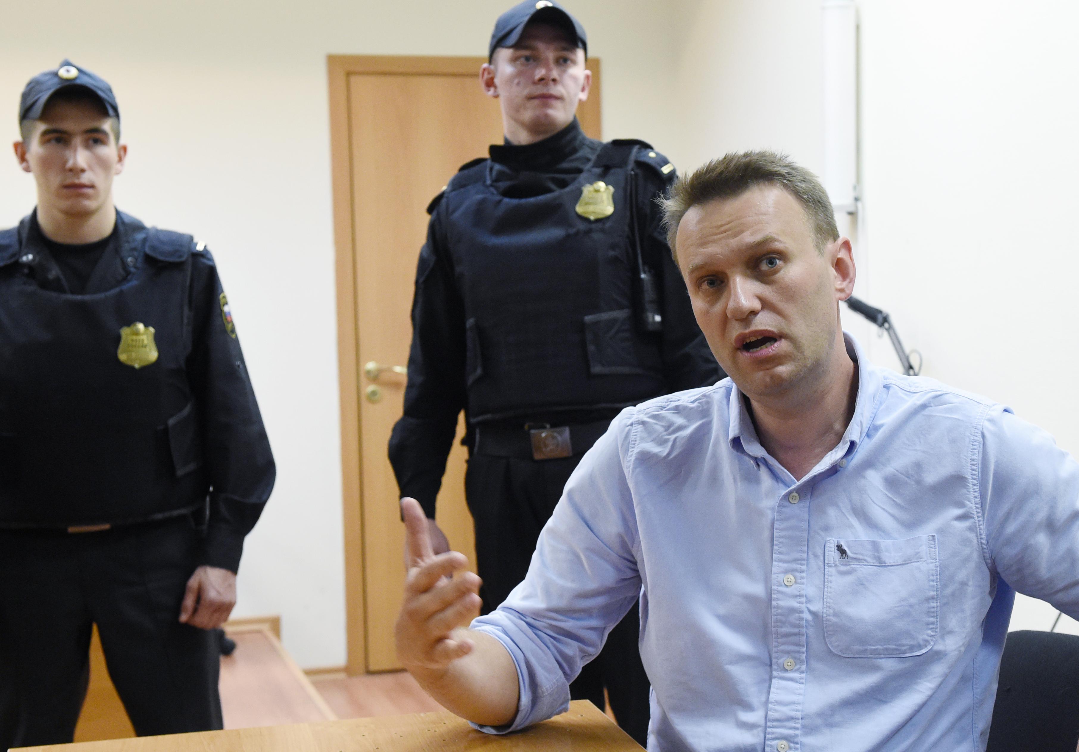 30 nap börtönt kapott Navalnij