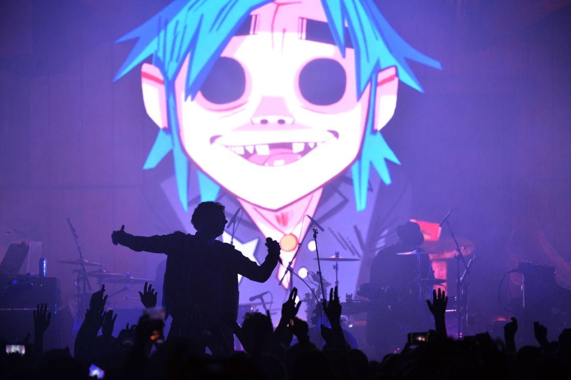 Gorillaz koncert élőben!!!