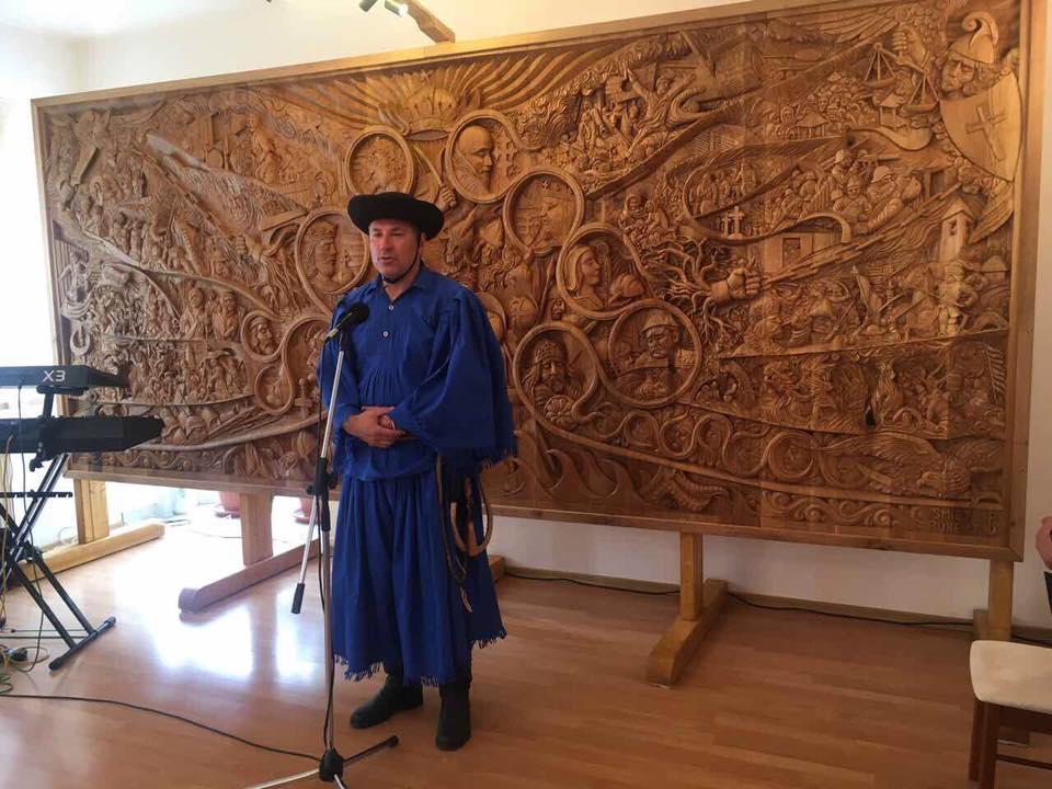 Boldog István honatya megnyitotta a XII. Alföldi Betyárétel Főző Fesztivált