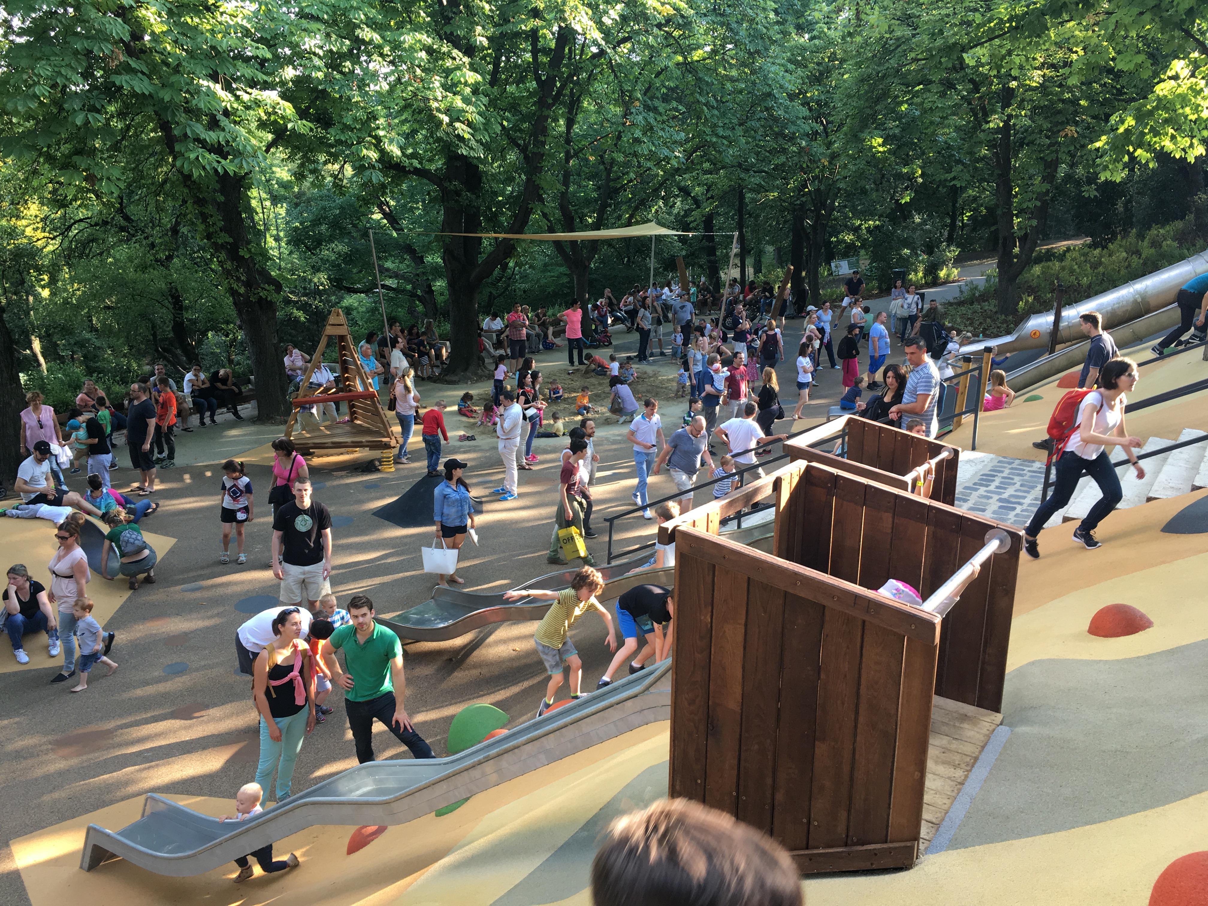 Az új gellérthegyi játszótértől megvadult búgócsigává változnak a gyerekek