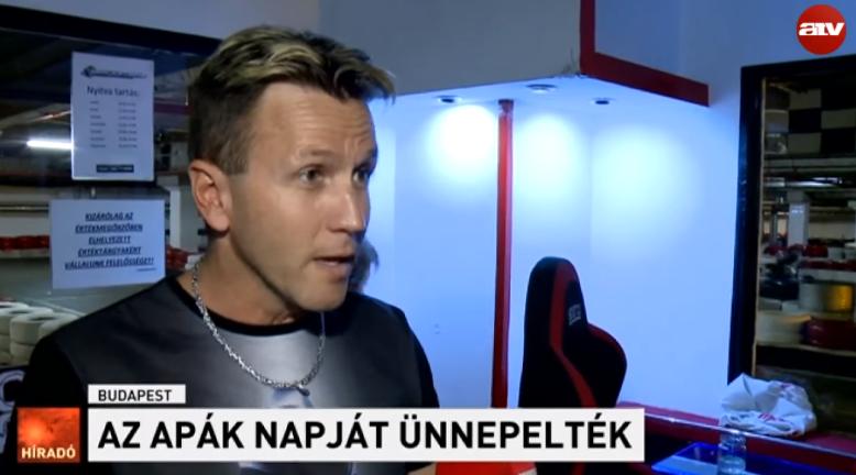 Az ATV a leghíresebb magyar férfi pornószínészt szólaltatta meg apák napja alkalmából