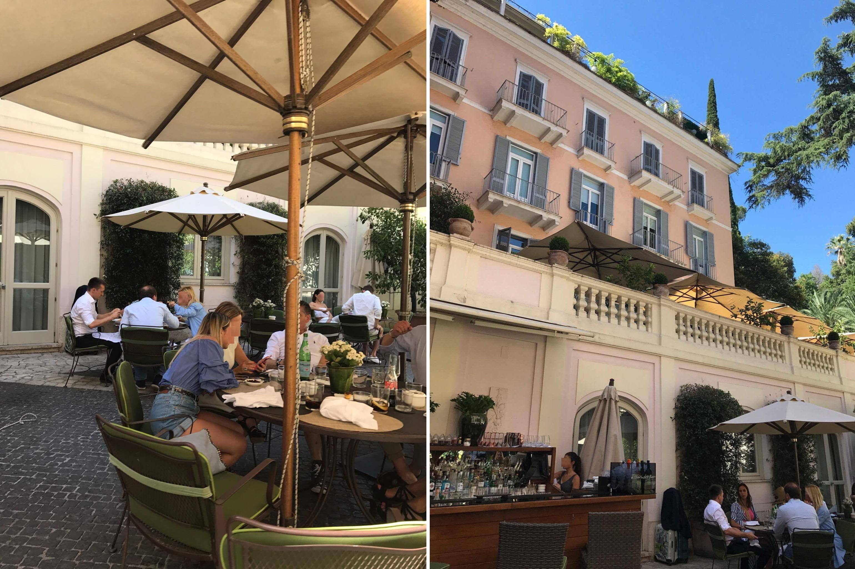 A Rogán házaspár egy 5 csillagos római szállodában bukkant fel