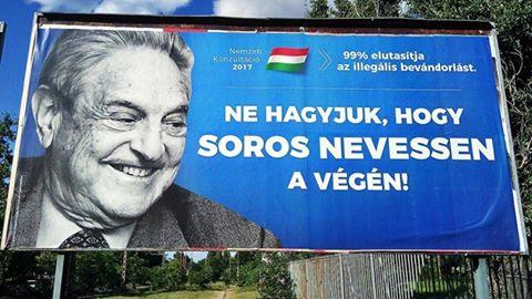 Már Török Gábornak is az 1984 jut eszébe a kormány plakátjairól