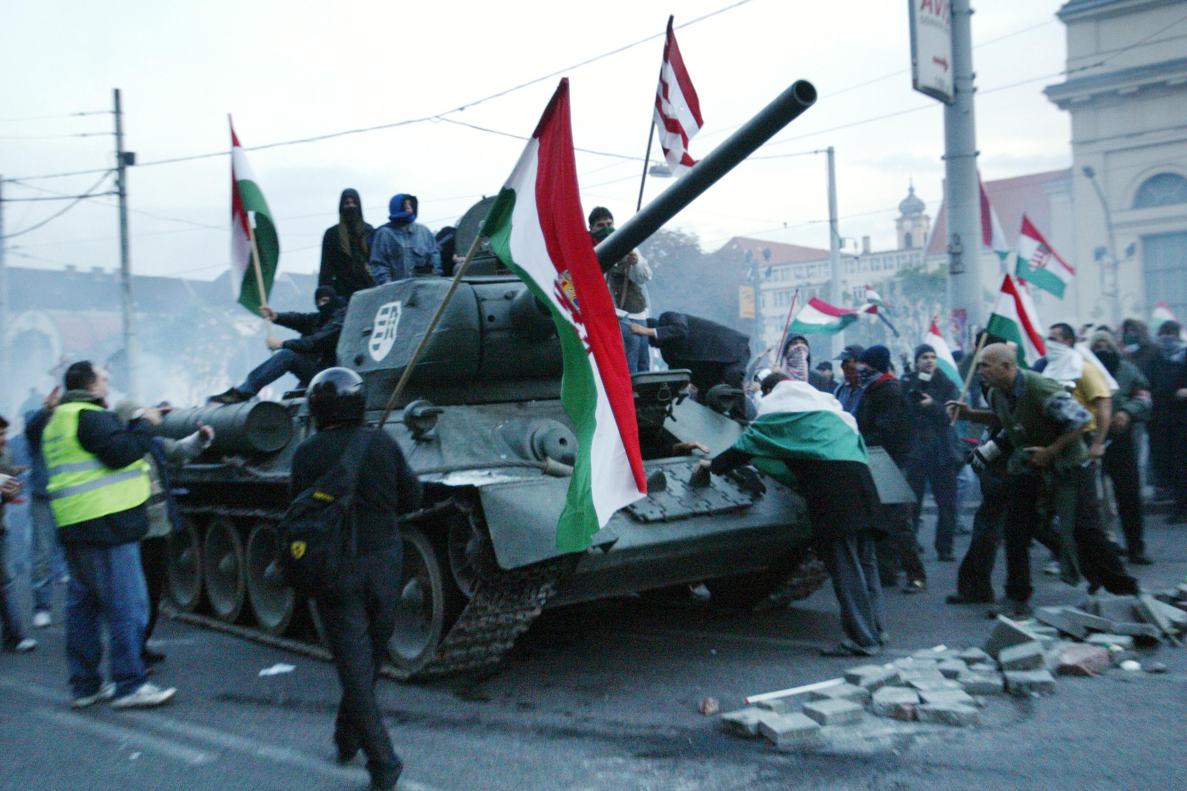 1 ok, ami miatt nem várható véres polgárháború Magyarországon