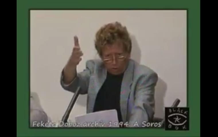 """Kern András 1993-ban: """"Soros György mindenben igazi realista, de abban, hogy nálunk 100 éven belül kevesebb lehet a hülye ember..."""""""