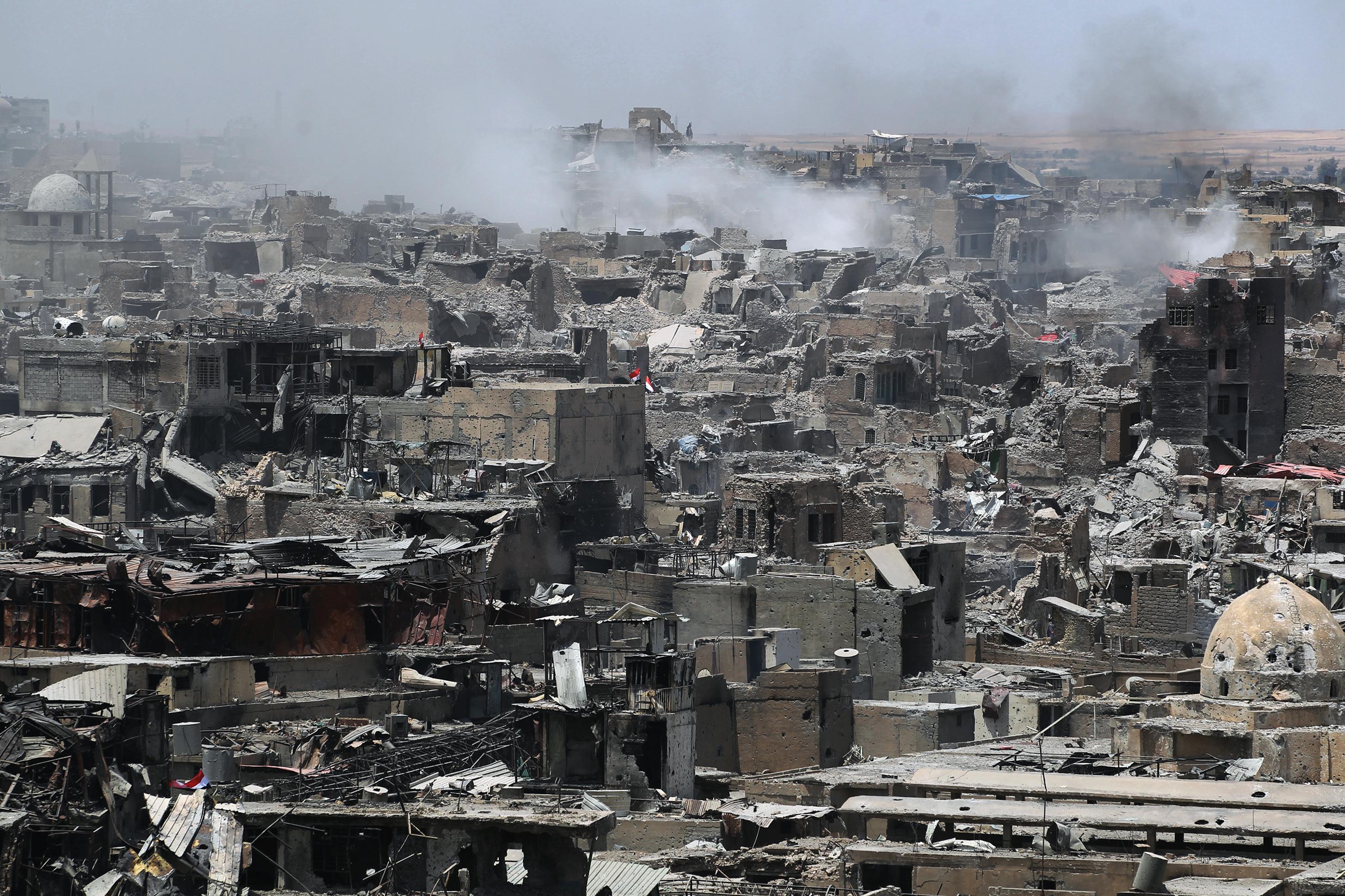 Az iraki hadsereg visszafoglalta Moszult az Iszlám Államtól
