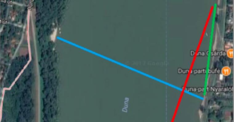 Három hajó hagyta fuldokolni a Dunában, a hangos kurvaanyázás mentette meg a blogger életét