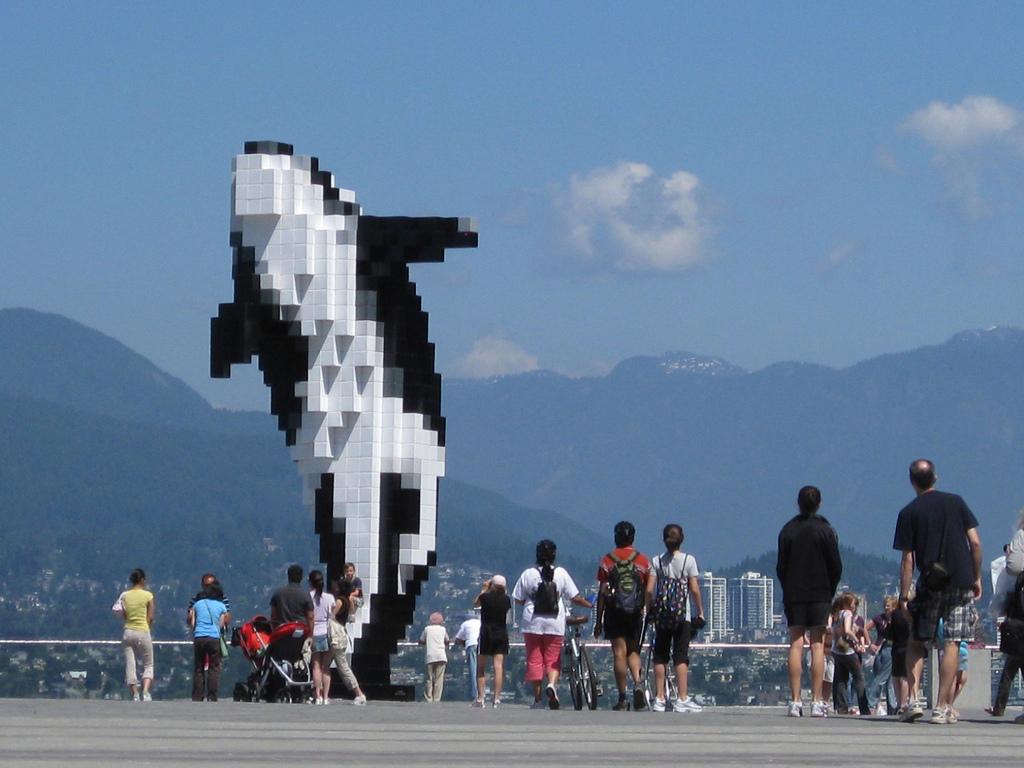 Mintha ezt a dunai gyilkos bálnát Vancouverben is látták volna...