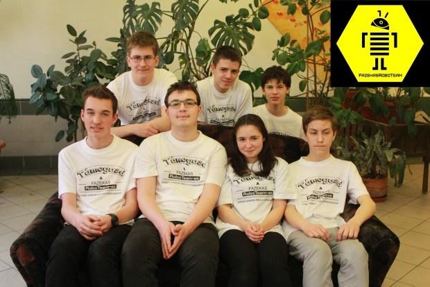 A Fazekas diákjai nyerték meg a fődíjat a robotépítő olimpián Washingtonban