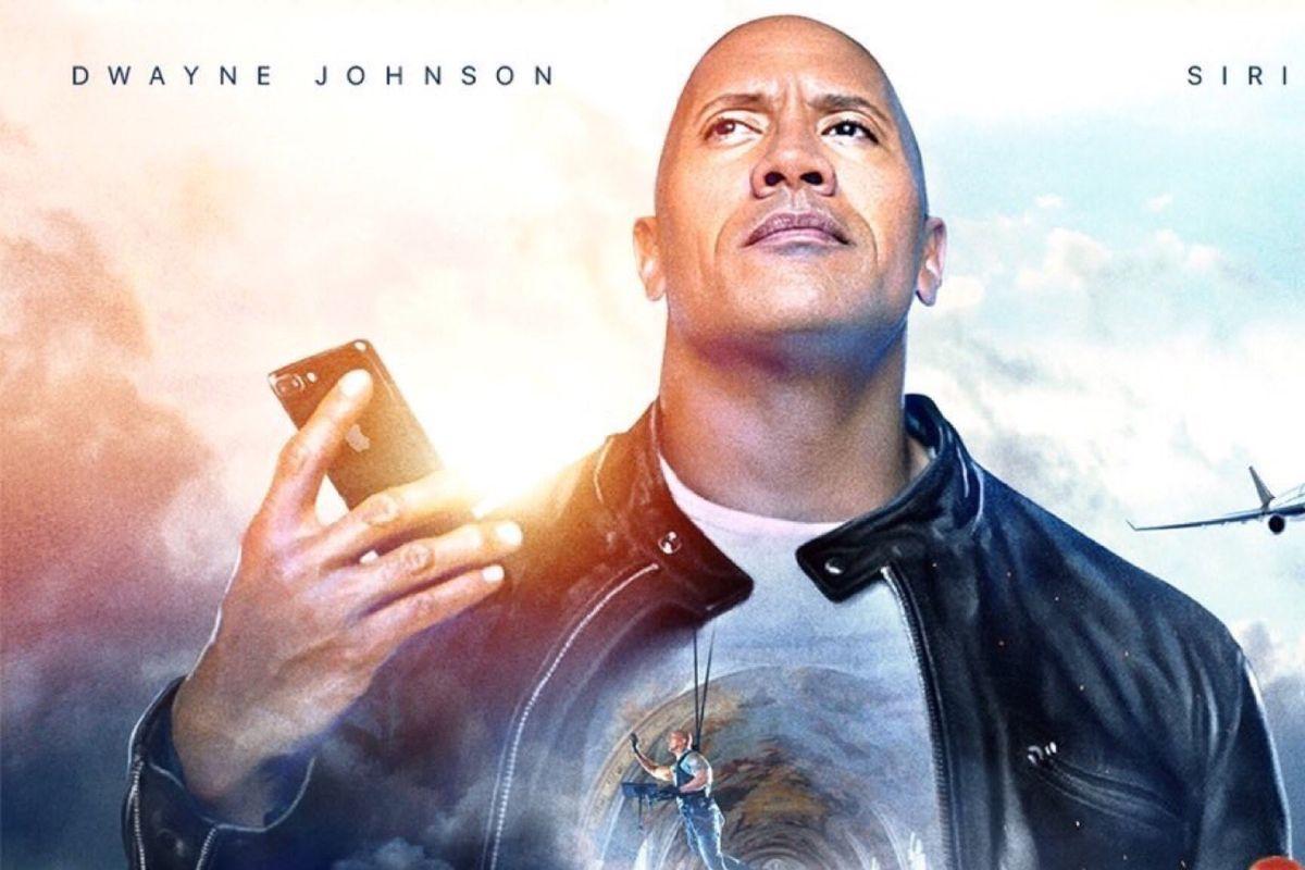 Itt az Apple mélypontja: Dwayne 'The Rock' Johnson és Siri közös filmet készített