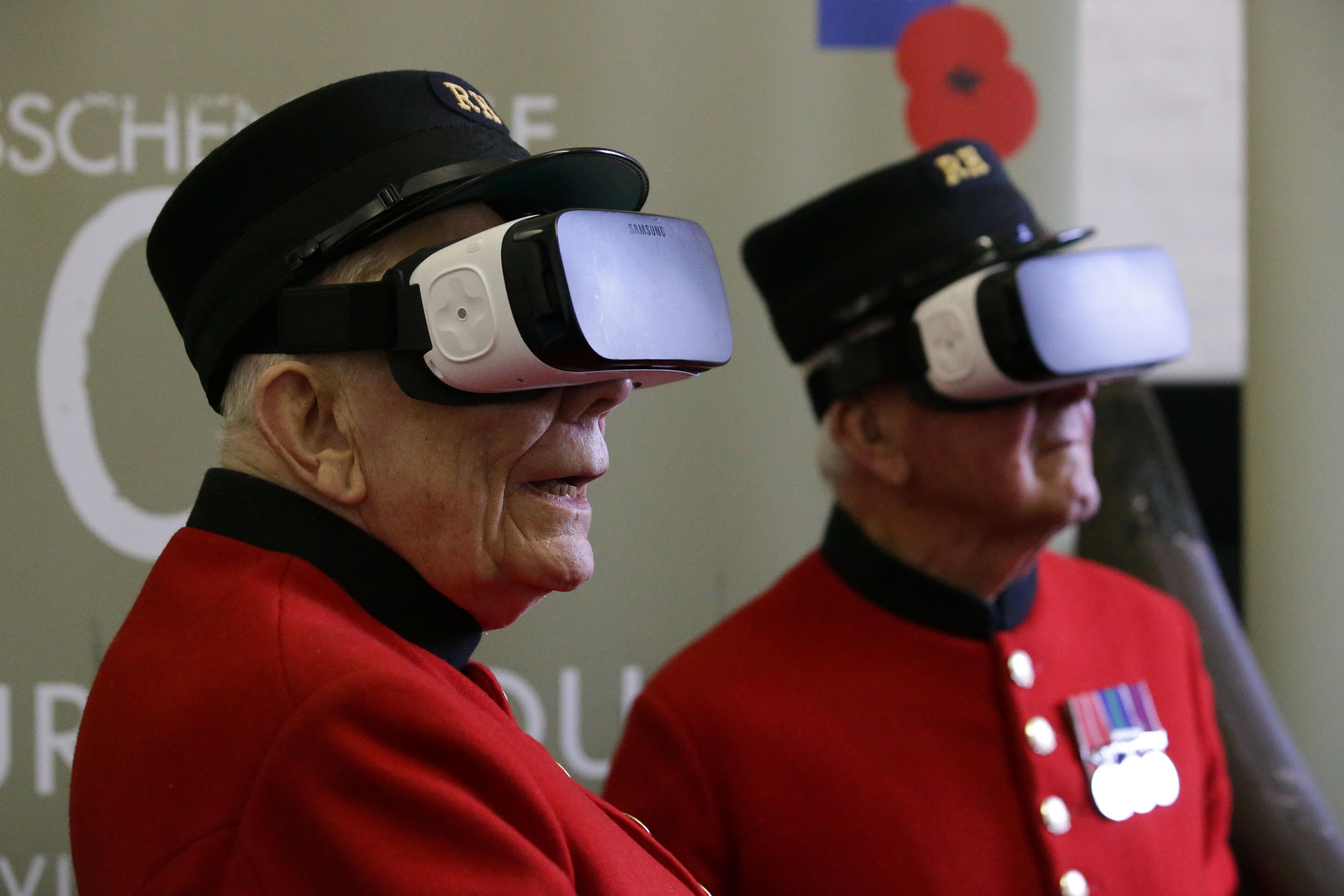 VR-szemüveggel tekintett vissza az első világháborúba két brit veterán