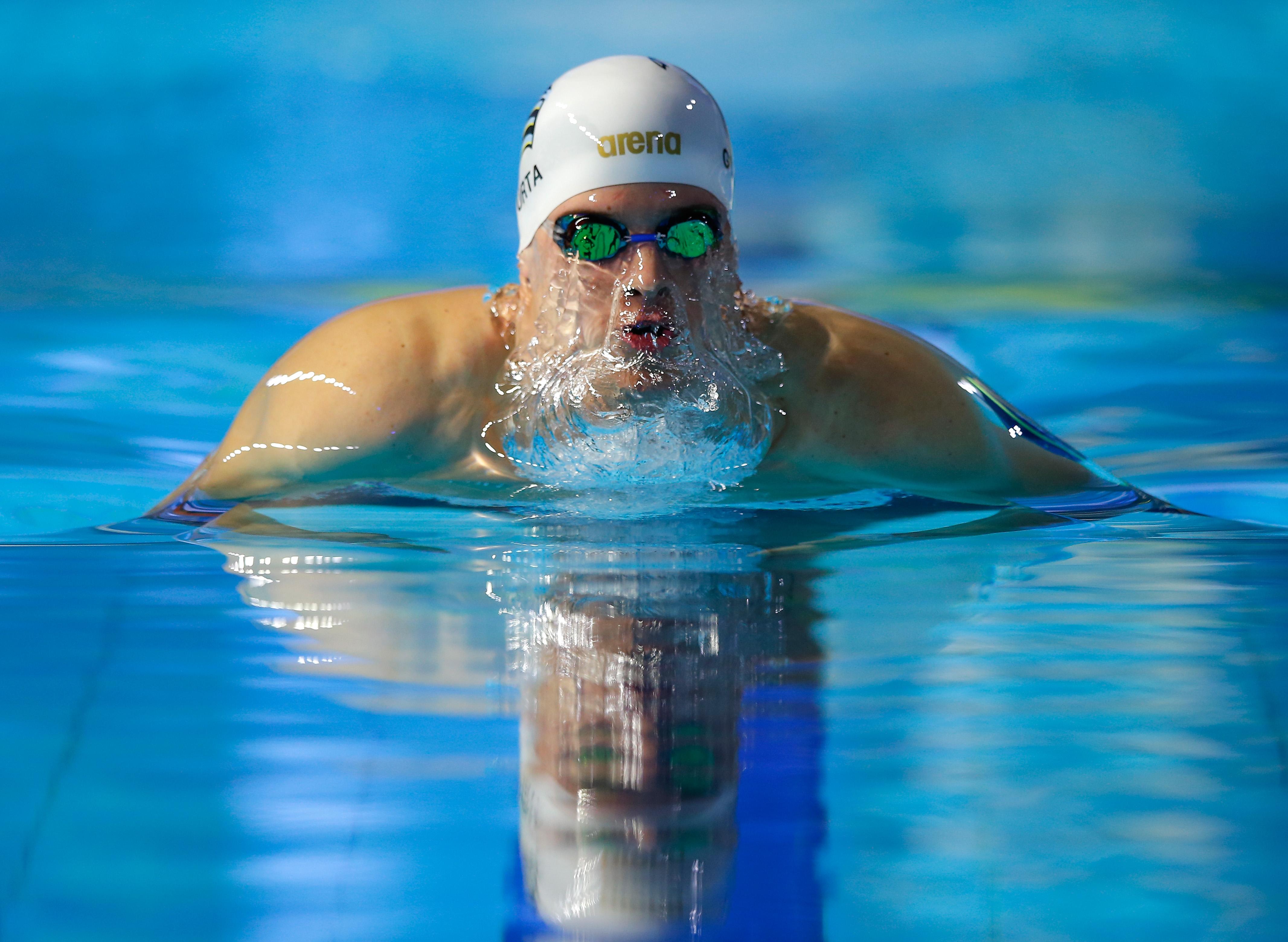 Gyurtáék hetedikek lettek 4x100-as férfi vegyes váltó döntőjében