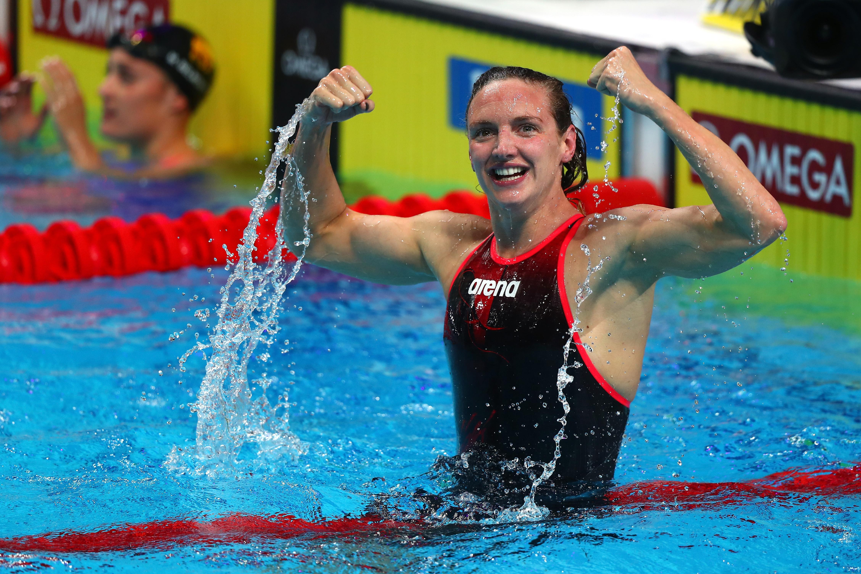 Hosszú Katinka két aranyat és két bronzérmet nyert Dohában