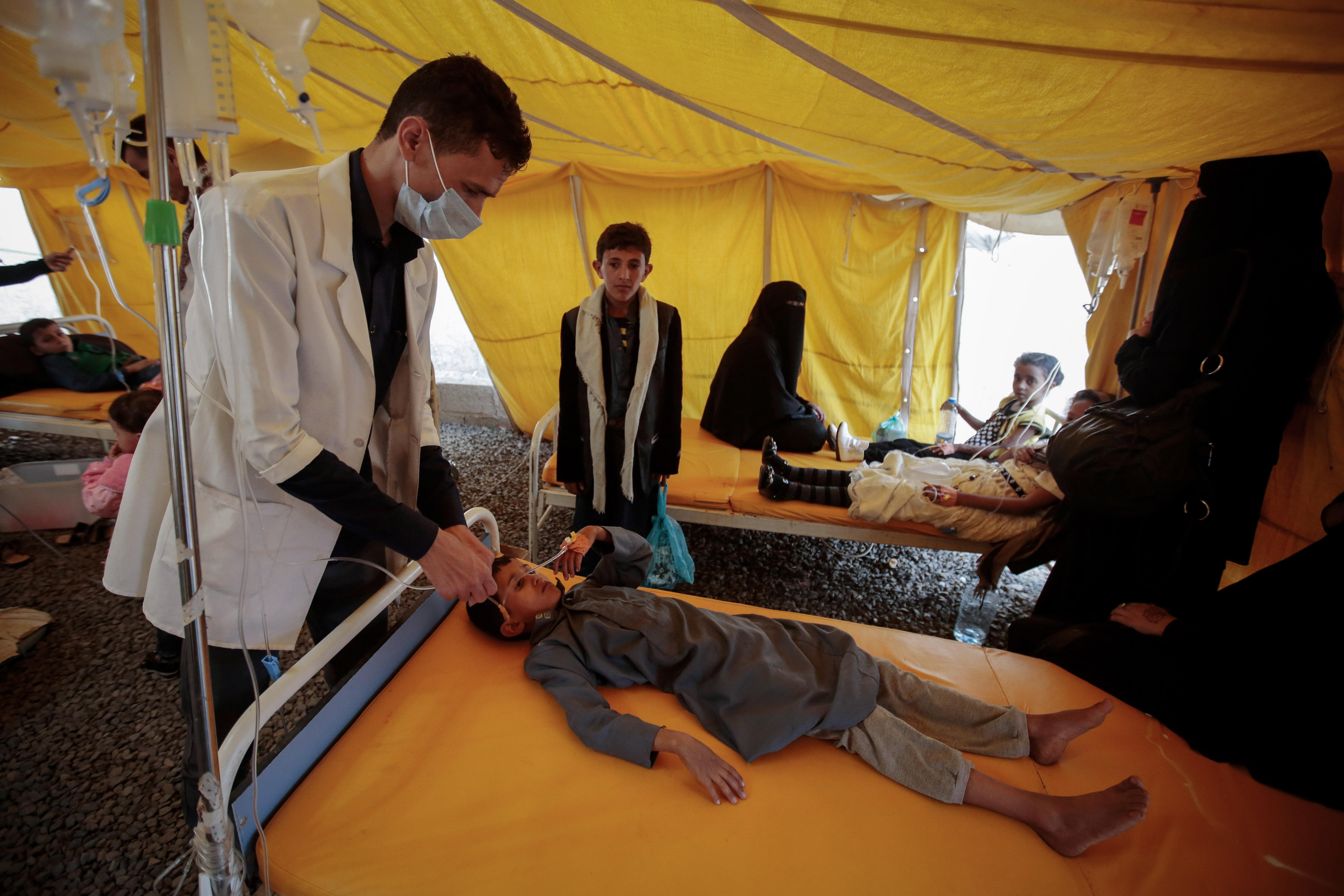 Egymillió kisgyereket fenyeget a kolerajárvány Jemenben