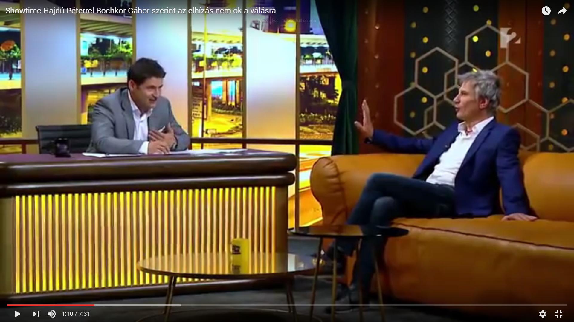 Hashtag Bochkor címmel indul valakinek műsora az ATV-n