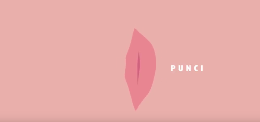 Négy pina beszélget, az egyiket úgy hívják, hogy Punci