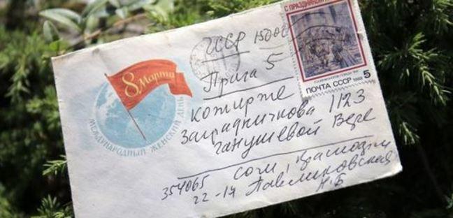 Alig 28 év alatt érkezett meg egy levél Szocsiból Prágába