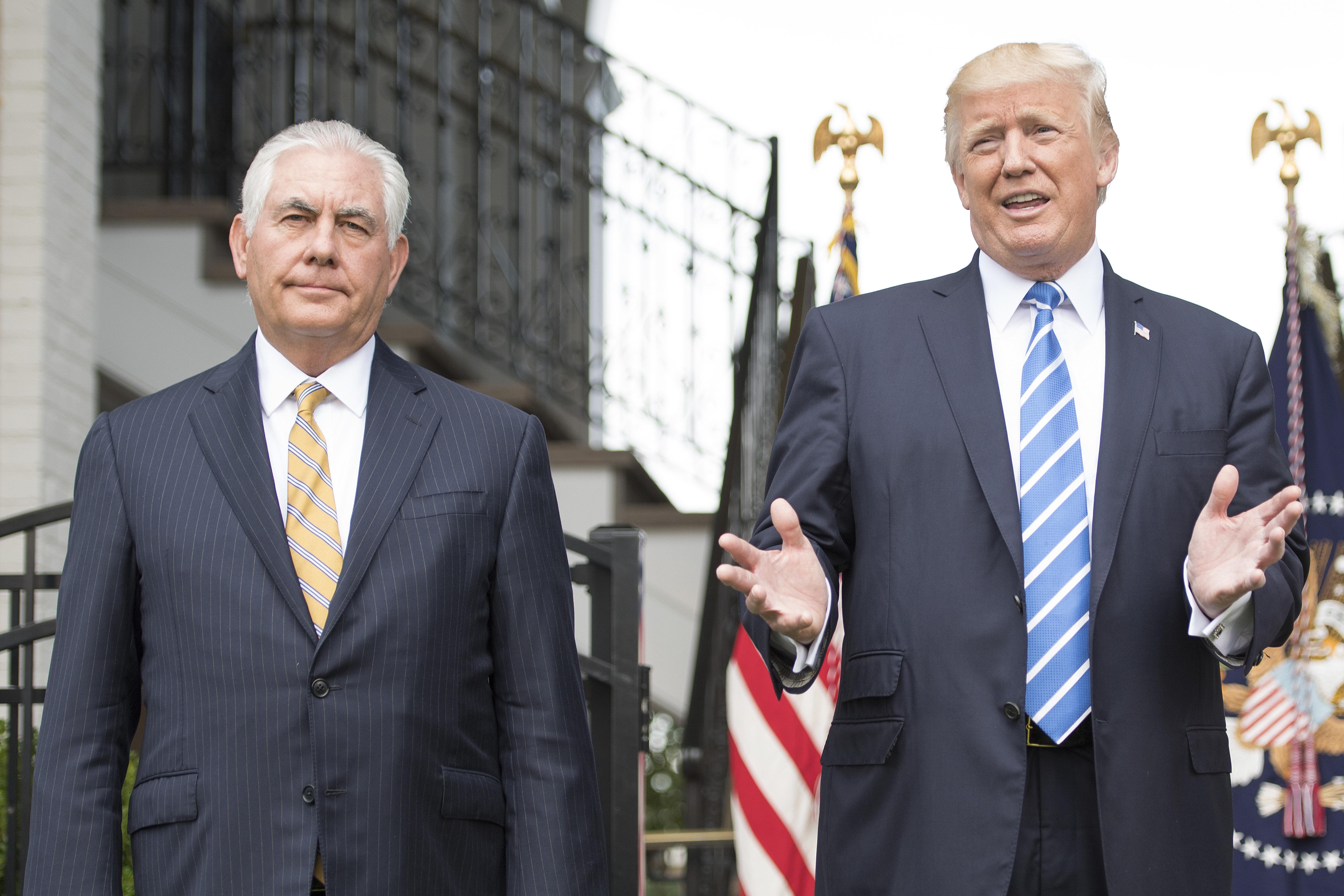 Saját külügyminisztere nevezte idiótának Trumpot